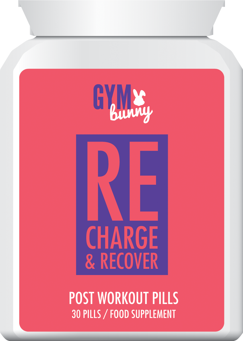 GYM BUNNY RECHARGE & RECOVER POST WORKOUT PILLS