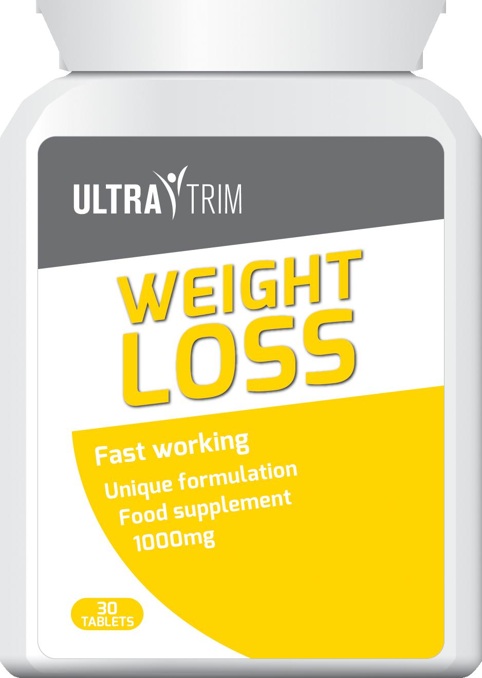 ULTRA TRIM WEIGHT LOSS PILLS
